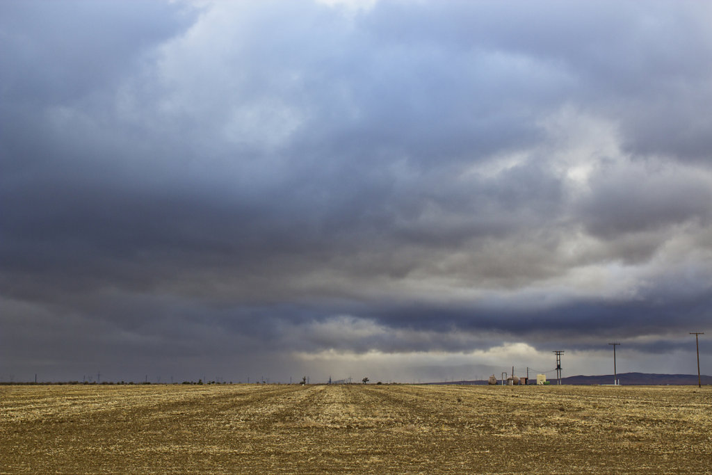 Storm Over an Empty Field